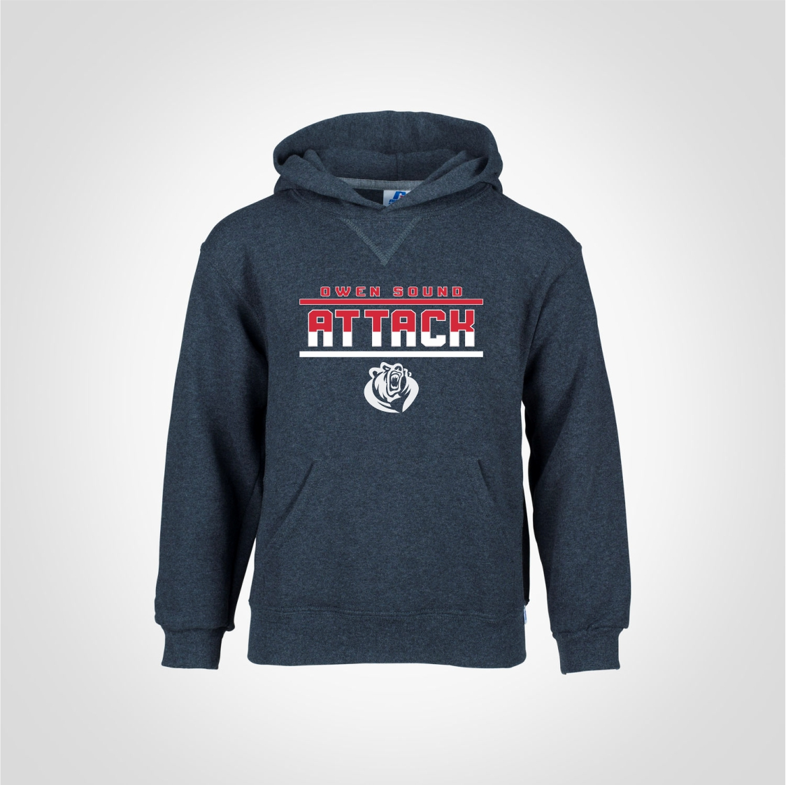 3a8b8bf091 995HBB1 Russell Athletic YOUTH 50/50 Fleece Pullover Hoodie