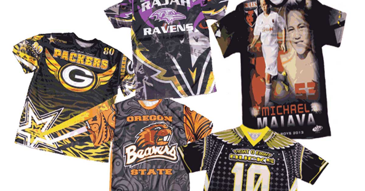 Dye Sublimation Printing Services | Hotline Apparel