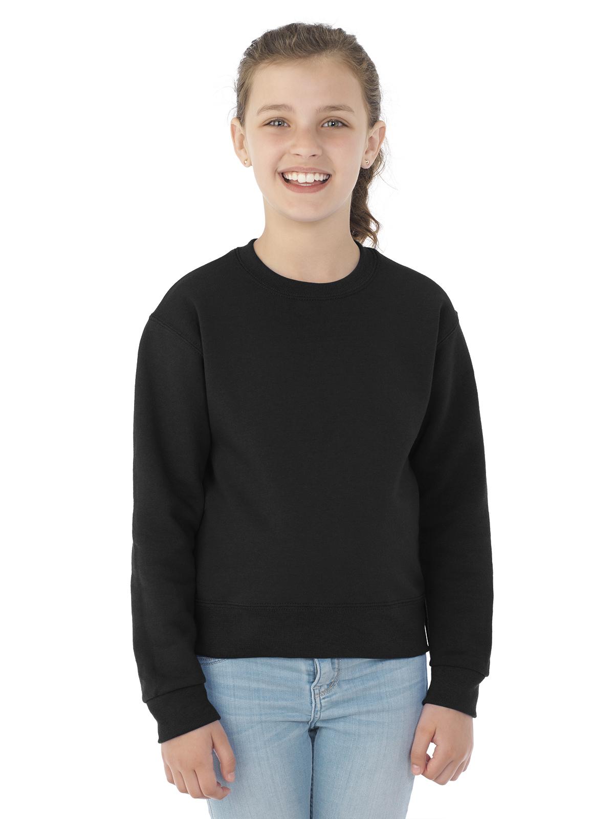1b0e4cb4ebd4c1 562BR NuBlend® Youth Crewneck Sweatshirt   Hotline Apparel